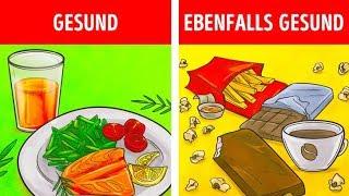 9 schlechte Lebensmittel, die eigentlich gut für dich sind
