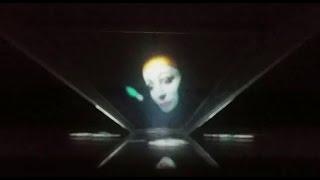 Dein Smartphone als 3D Hologram Projektor  -  ANLEITUNG