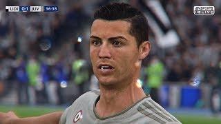 FIFA 19 Remake: CRISTIANO RONALDO GOAL VS UDINESE | Pirelli7