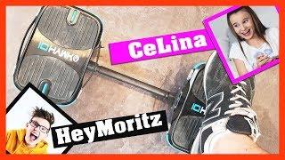 HeyMoritz & CeLina 🚀 testen IO HAWK SKATES, Hoverboard Schuhe, das große Battle!!!