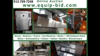 Moni's Seafood, Steak & Bbq Auction - Equip-bid.com