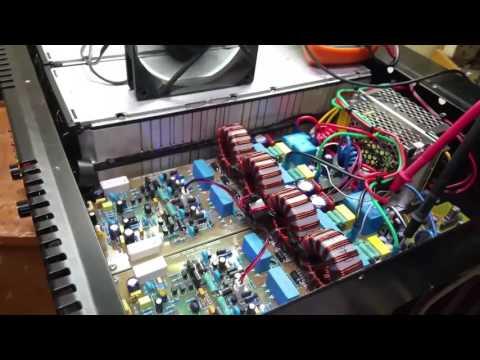 UcD Xlite fullbridge amplifier supply 106Vdc