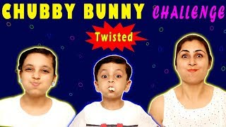 Download CHUBBY BUNNY CHALLENGE | #Bloopers #Funny Family Challenge | Aayu and Pihu Show Mp3 and Videos