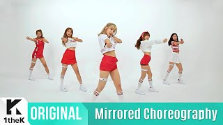 [Mirrored] LABOUM(라붐)_ Shooting Love Choreography(푱푱 거울모드 안무영상)_1theK Dance Cover Contest