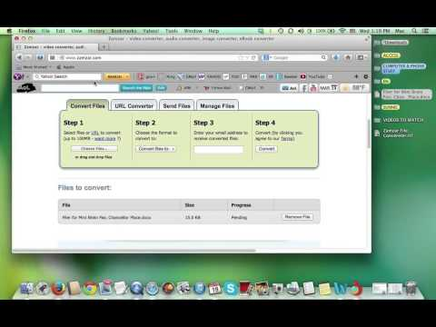 How to Use Zamzar File Converter