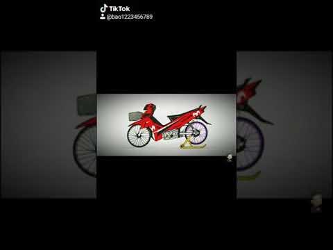 vẽ xe đạp độ