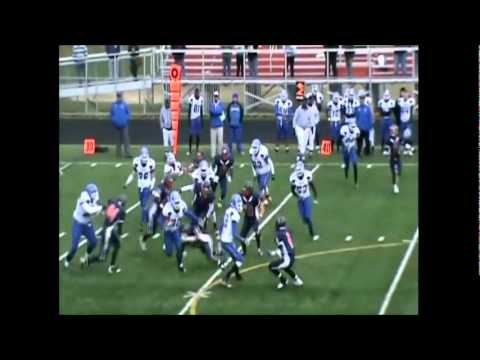 Andrew Bond Varsity Football Highlights 2010 Franklin High School MD