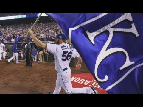 Celebrating Kansas City Royals' World Series return