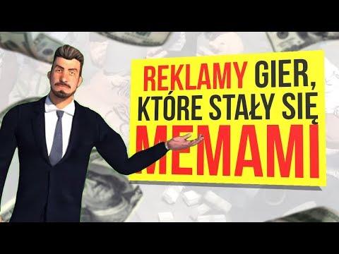 Reklamy gier, które stały się memami