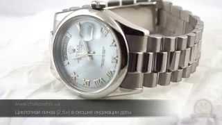 Швейцарские часы Rolex Platinum Day Date President(, 2015-08-18T14:04:16.000Z)