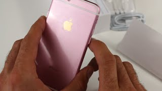 FAKE Rose Gold IPhone 6s Unboxing And Review (BUYER BEWARE)
