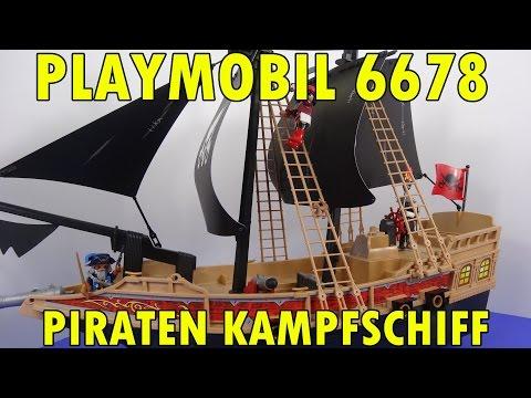"""""""PLAYMOBIL 6678 PIRATEN KAMPFSCHIFF"""" -Vorstellung"""