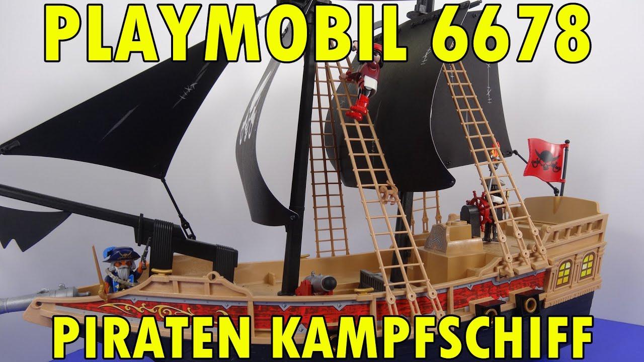 """""""PLAYMOBIL 6678 PIRATEN KAMPFSCHIFF"""" -Vorstellung - YouTube"""