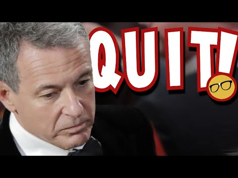 Disney CEO Bob Iger QUITS! Related To The Disney Star Wars Disaster?