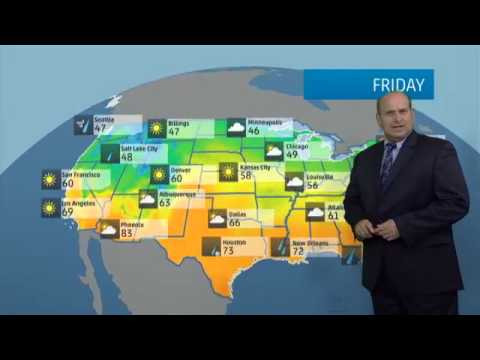 Today's National Weather Forecast