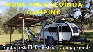 Free Camping in Florida! Southwest Water Management Camping