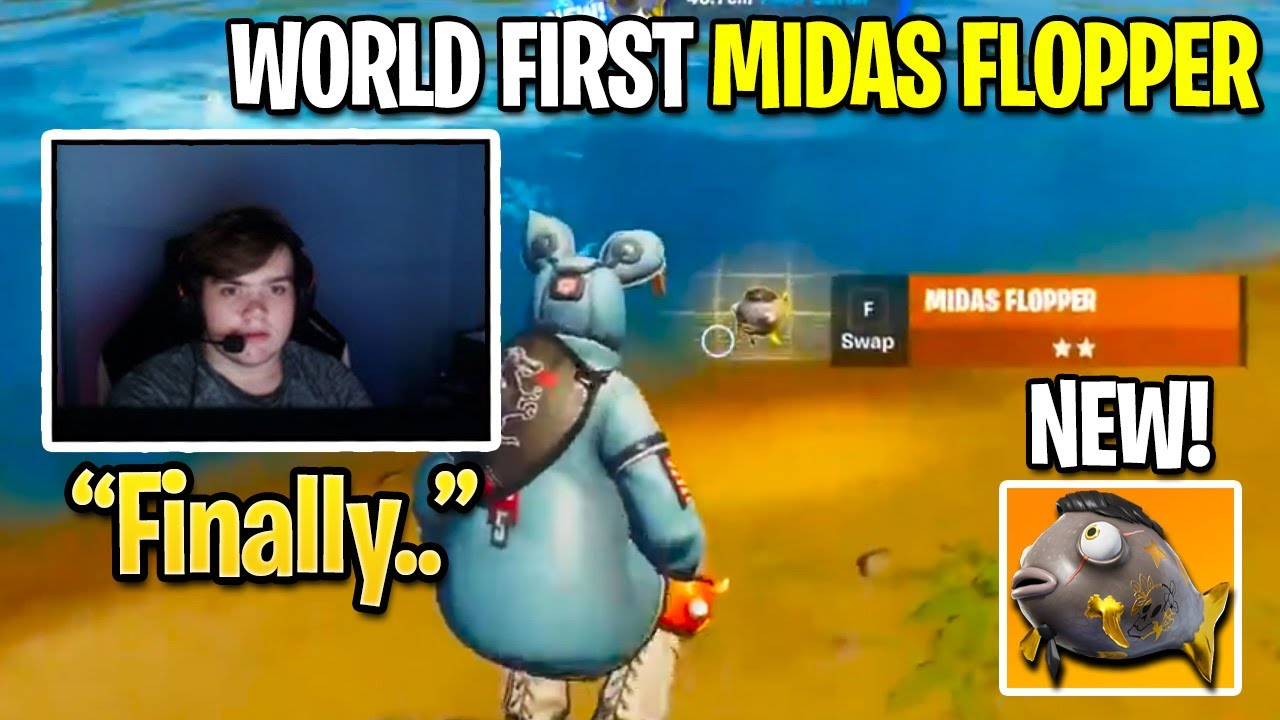 Everyone SHOCKED When Streamer CAUGHT WORLD FIRST Midas Flopper After Fortnite Update!