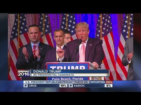 Donald Trump wins Republican Primary in Florida, knocks Rubio out of GOP race