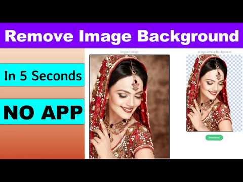 Remove Image Background In 5 Seconds Free Without A Single Click