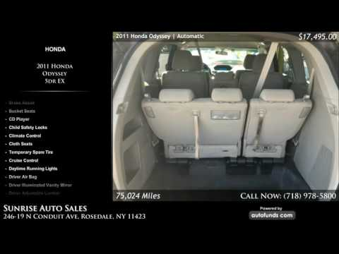 Used 2011 Honda Odyssey | Sunrise Auto Sales, Rosedale, NY - SOLD