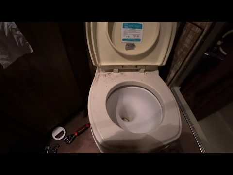 Working on a '77 Dodge RV Toilet | Sept 02, 2018 [PT. 3]