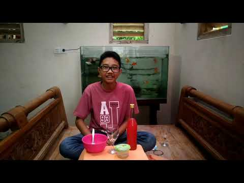 "Text procedure ""how to make syrup cocopandan with nata de coco"""