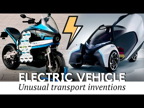 10 Amazing Electric Vehicles and New Transport Inventions You Should See