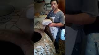 Узбекская лепёшка!!! Очень вкусная !!!