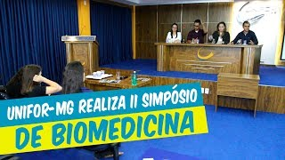 II SIMPÓSIO DE BIOMEDICINA DO UNIFOR-MG É REALIZADO