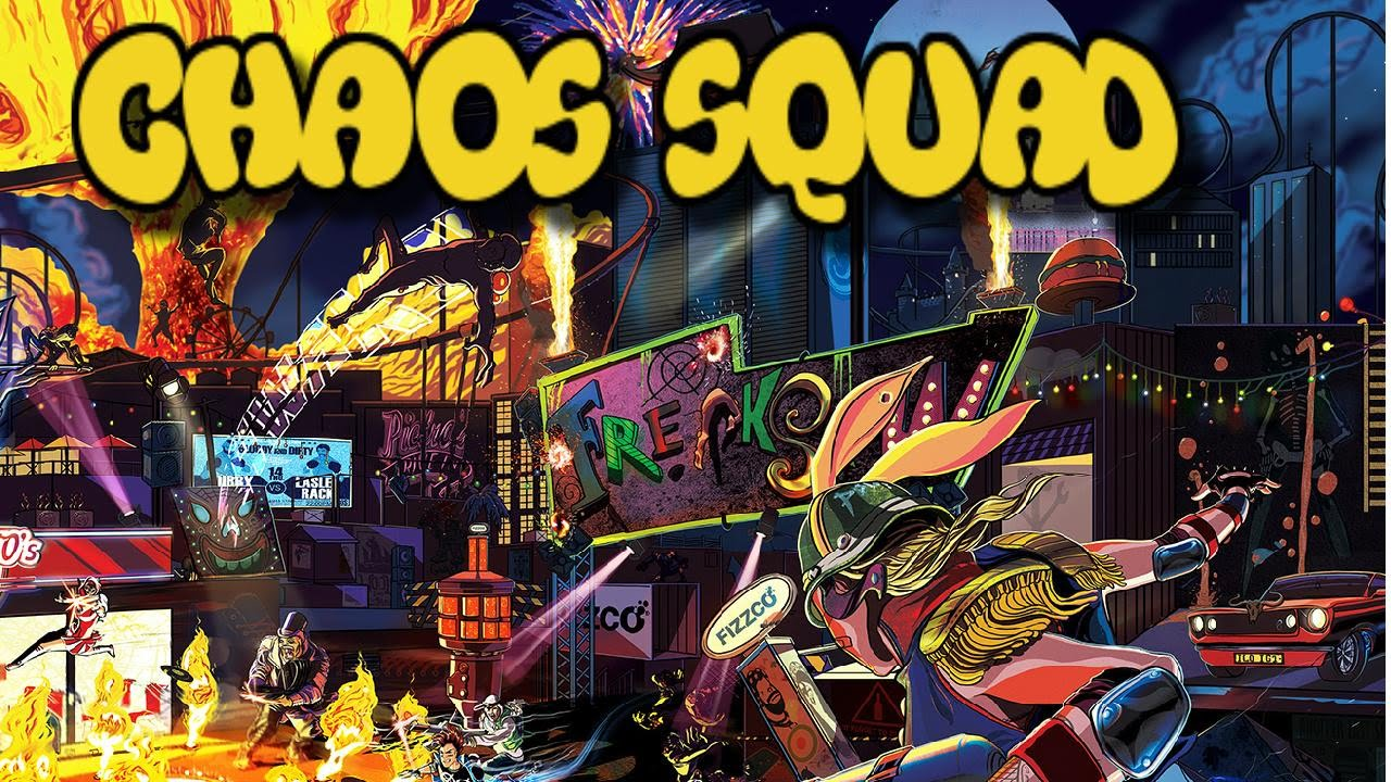 sunset overdrive chaos squad clothing
