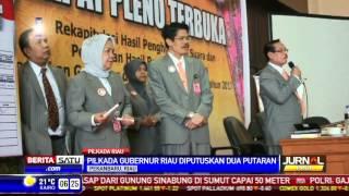Pilkada Riau Gelar Putaran Kedua