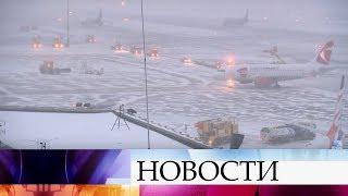 видео В столице ожидается сильный снегопад