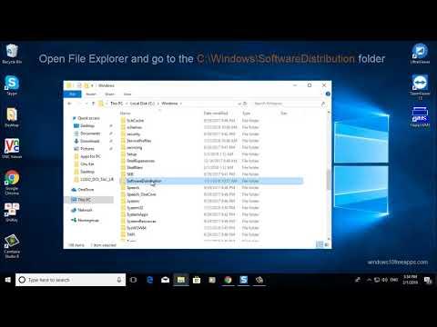 How To Delete Software Distribution Folder on Windows 10
