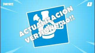 UPDATE V.7.40 NEW WEAPON, RETURN AMOROSO MONTARAZ / FORTNITE SAVE THE WORLD