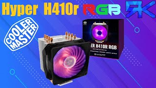 Cooler Master Hyper H410R RGB, CPU cooler review / unboxing screenshot 5