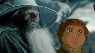 The Hobbit: The Desolation of Smaug (2013) - 1977 Animated Teaser Trailer