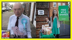 SO SAD! Elderly Army Veteran Assaulted by Unhinged Leftist for Supporting Brexit Party