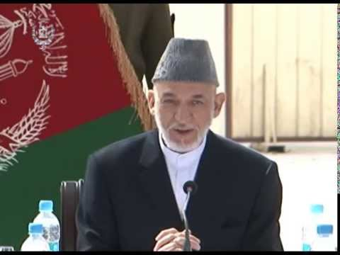 President Karzai's Farewell Meeting with Foreign Diplomatic Corps