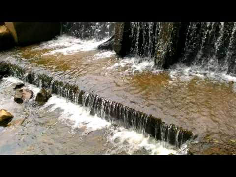 Waterfall at Bennett Cerf Pond - Westminster, MD