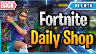 *SCHWITZER* SKINS BACK IN SHOP - Fortnite Daily Shop (1 June 2019)