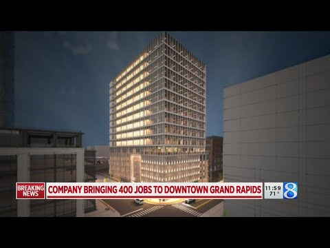Business To Bring 400 Jobs To Downtown GR's Studio Park
