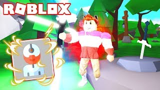I GET THE CYBORG RANGE AND ENTER THE TOP OF ROBLOX SIMULATOR SABER! 🤖
