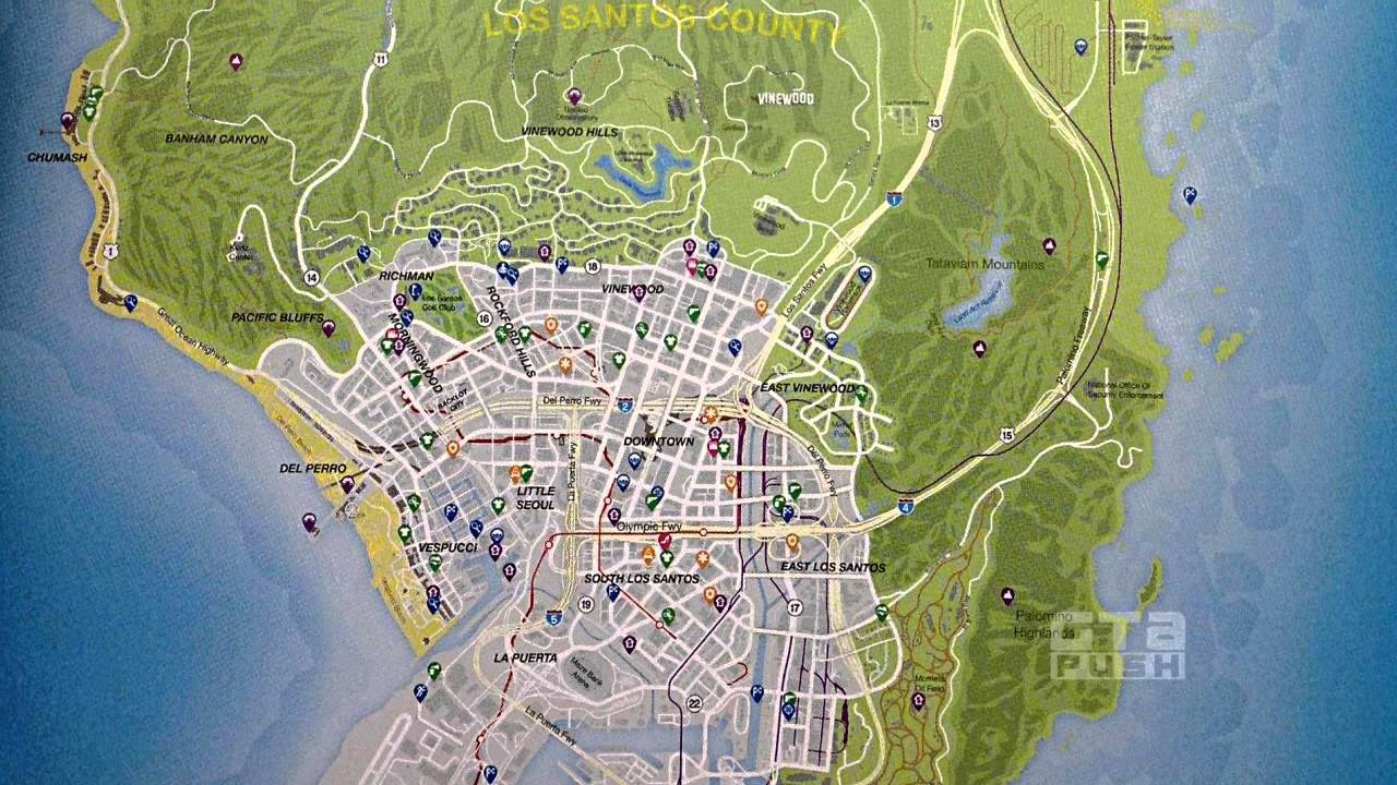 Gta 5 Online Karte