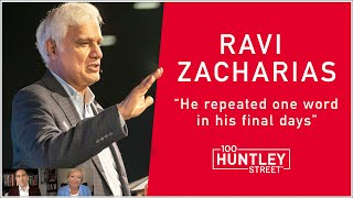"RAVI ZACHARIAS: Memorial Today. ""He repeated one word in his final days."" RZIM Speaker reflects."