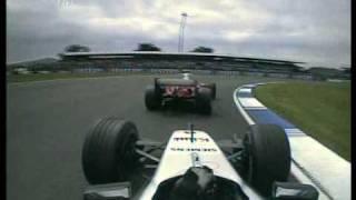 2004 British GP- Kimi Raikkonen vs Michael Schumacher