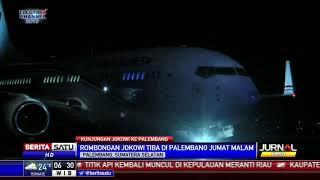 Setelah Lampung, Presiden Jokowi Bertolak ke Palembang