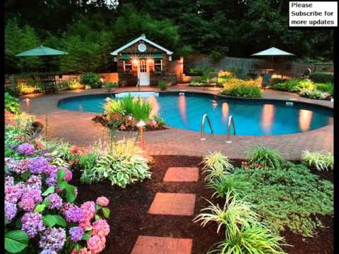 Outdoor Design Ideas poolside tri level outdoor fireplaces the green scene chatsworth ca Garden Decor Ideas Pictures Outdoor Design Ideas