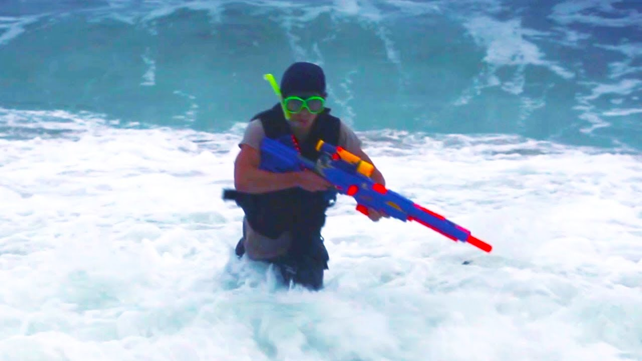 Nerf Squad 22: Seal Team Sniper - YouTube