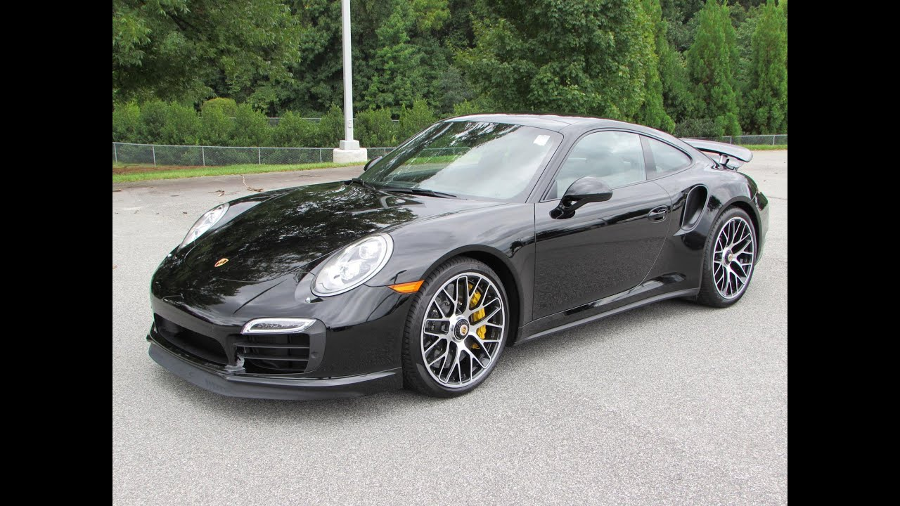 2015 porsche 911 turbo s start up exhaust and in depth review youtube - Porsche 911 2015 Black