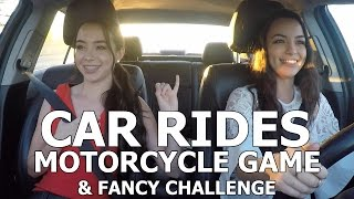 Car Rides - Motorcycle Game & Fancy Challenge - Merrell Twins